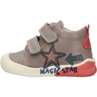 Schuhe Jungen Sneaker High Naturino - Polacchino grigio CICO VL-1B76 GRIGIO