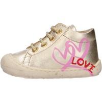 Schuhe Jungen Sneaker High Naturino - Polacchino platino KOLBY-0Q06 PLATINO