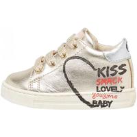 Schuhe Mädchen Sneaker Low Falcotto - Polacchino platino BELBY-2C09 BLU