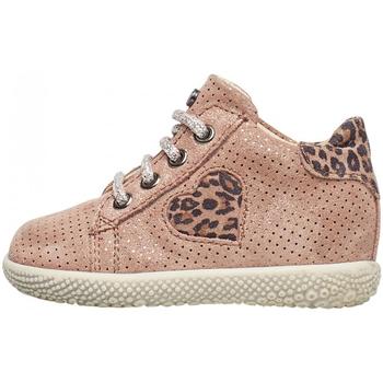 Schuhe Mädchen Sneaker High Falcotto - Polacchino rosa CARYB-1M36 ROSA