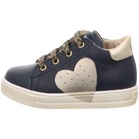 Schuhe Mädchen Sneaker Low Falcotto - Polacchino blu HEART-2C09 BLU