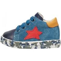 Schuhe Jungen Sneaker Low Falcotto - Polacchino blu SASHA-2C05 BLU
