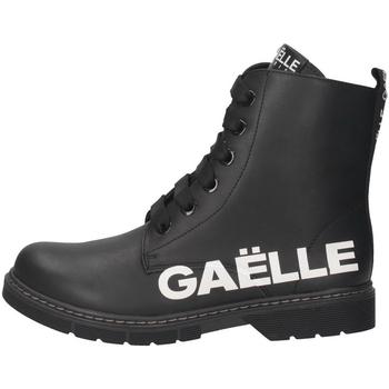 Schuhe Jungen Sneaker GaËlle Paris - Anfibio nero G-452A NERO