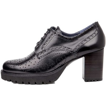 Schuhe Damen Derby-Schuhe CallagHan - Derby nero 21918 NERO
