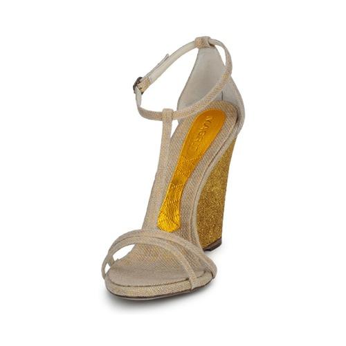 Magrit  JOAQUINA Beige / Goldfarben  Magrit Schuhe Sandalen / Sandaletten Damen 172,50 01835c