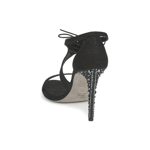 Magrit MIJARES MIJARES MIJARES Schwarz  Schuhe Sandalen   Sandaletten Damen 82372b