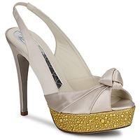 Schuhe Damen Sandalen / Sandaletten Magrit IMPERIALI Weiss / Goldfarben