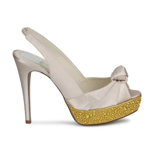 Magrit Magrit Magrit IMPERIALI Weiss / Goldfarben  Schuhe Sandalen / Sandaletten Damen 247,20 16edb0