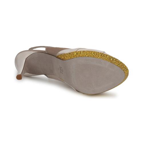 Magrit IMPERIALI Weiss / Schuhe Goldfarben  Schuhe / Sandalen / Sandaletten Damen 247,20 373842
