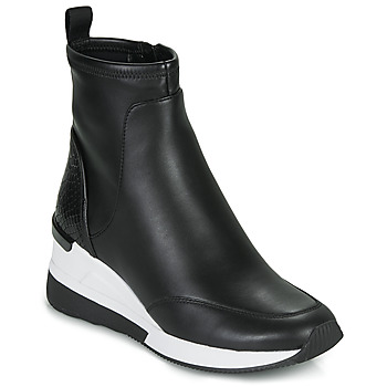 Schuhe Damen Sneaker High MICHAEL Michael Kors KINSEY Schwarz