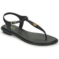 Schuhe Damen Sandalen / Sandaletten MICHAEL Michael Kors MALLORY THONG Schwarz