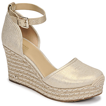 Schuhe Damen Sandalen / Sandaletten MICHAEL Michael Kors KENDRICK WEDGE Gold