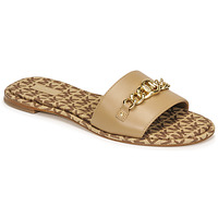 Schuhe Damen Pantoffel MICHAEL Michael Kors RINA SLIDE Camel