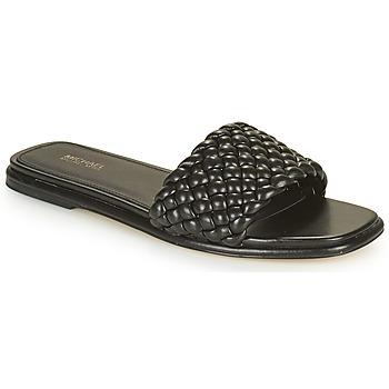 Schuhe Damen Pantoffel MICHAEL Michael Kors AMELIA FLAT SANDAL Schwarz
