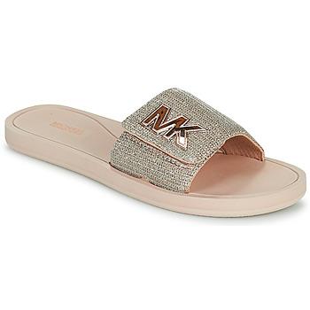 Schuhe Damen Pantoletten MICHAEL Michael Kors MK SLIDE Rose / Gold