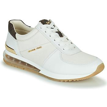 Schuhe Damen Sneaker Low MICHAEL Michael Kors ALLIE TRAINER EXTREME Creme