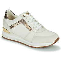 Schuhe Damen Sneaker Low MICHAEL Michael Kors BILLIE TRAINER Beige