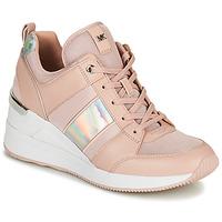 Schuhe Damen Sneaker Low MICHAEL Michael Kors GEORGIE TRAINER Rose