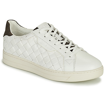 Schuhe Damen Sneaker Low MICHAEL Michael Kors KEATING LACE UP Weiss / Braun