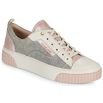Schuhe Damen Sneaker Low MICHAEL Michael Kors OSCAR LACE UP Beige / Rose / Rose / Gold
