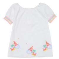 Kleidung Mädchen Kurze Kleider Billieblush / Billybandit U12657-10B Weiss