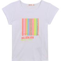 Kleidung Mädchen T-Shirts Billieblush / Billybandit U15857-10B Weiss