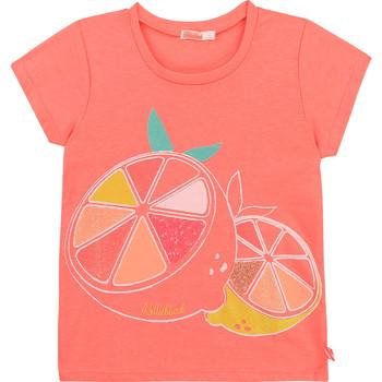 Kleidung Mädchen T-Shirts Billieblush / Billybandit U15864-499 Rose