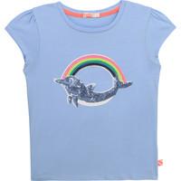 Kleidung Mädchen T-Shirts Billieblush U15875-798 Blau