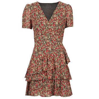 Kleidung Damen Kurze Kleider Moony Mood ORNAMA Rot
