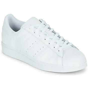 Schuhe Sneaker Low adidas Originals SUPERSTAR Weiss