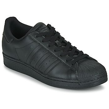 Schuhe Sneaker Low adidas Originals SUPERSTAR Schwarz