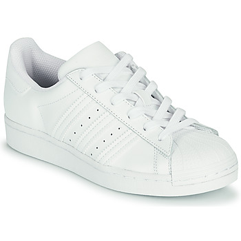 Schuhe Kinder Sneaker Low adidas Originals SUPERSTAR J Weiss