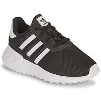 Schuhe Kinder Sneaker Low adidas Originals LA TRAINER LITE EL I Schwarz / Weiss