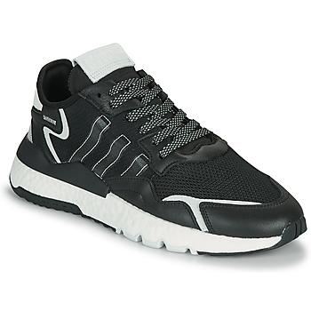 Schuhe Herren Sneaker Low adidas Originals NITE JOGGER Schwarz