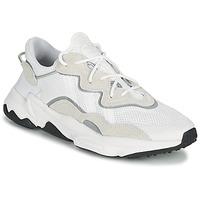 Schuhe Sneaker Low adidas Originals OZWEEGO Weiss / Beige