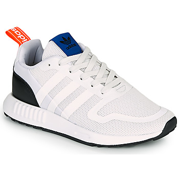 Schuhe Kinder Sneaker Low adidas Originals SMOOTH RUNNER J Weiss / Schwarz