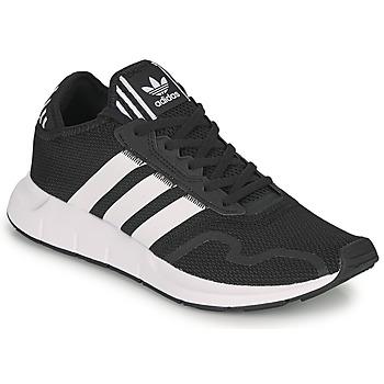 Schuhe Sneaker Low adidas Originals SWIFT RUN X Schwarz / Weiss