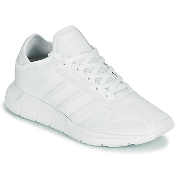 Schuhe Kinder Sneaker Low adidas Originals SWIFT RUN X J Weiss