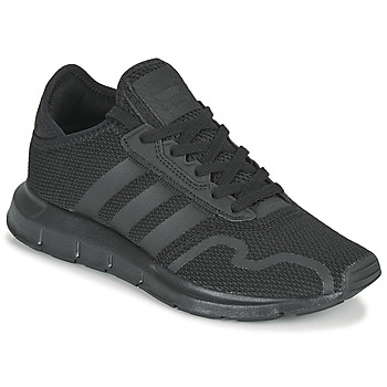 Schuhe Kinder Sneaker Low adidas Originals SWIFT RUN X J Schwarz