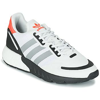 Schuhe Sneaker Low adidas Originals ZX 1K BOOST Weiss / Grau