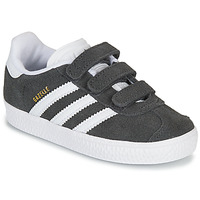 Schuhe Kinder Sneaker Low adidas Originals GAZELLE CF I Grau