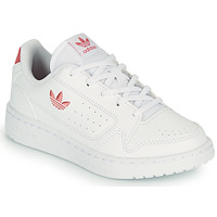 Schuhe Kinder Sneaker Low adidas Originals NY 92 C Weiss / Rose