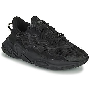 Schuhe Kinder Sneaker Low adidas Originals OZWEEGO J Schwarz