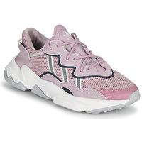 Schuhe Damen Sneaker Low adidas Originals OZWEEGO W Violett