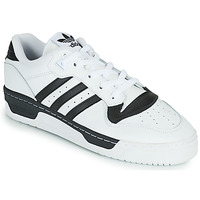 Schuhe Sneaker Low adidas Originals RIVALRY LOW Weiss / Schwarz
