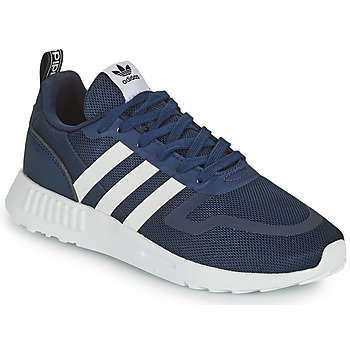 Schuhe Kinder Sneaker Low adidas Originals SMOOTH RUNNER C Marine / Weiss