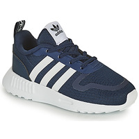 Schuhe Kinder Sneaker Low adidas Originals SMOOTH RUNNER EL I Marine / Weiss