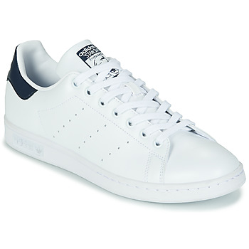 Schuhe Sneaker Low adidas Originals STAN SMITH SUSTAINABLE Weiss / Marine