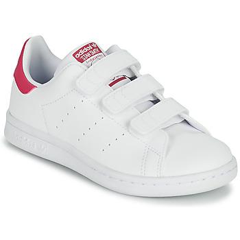 Schuhe Mädchen Sneaker Low adidas Originals STAN SMITH CF C SUSTAINABLE Weiss / Rose