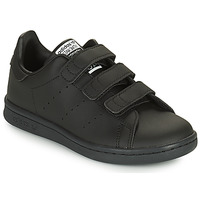 Schuhe Kinder Sneaker Low adidas Originals STAN SMITH CF C SUSTAINABLE Schwarz